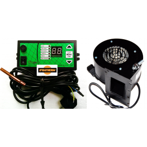Автоматика для котла з вентилятором TAL RT-22 + NOWOSOLAR NWS-75