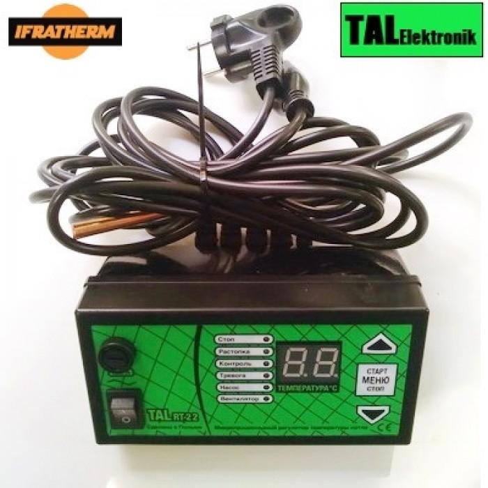 Контролер котла TAL RT-22, під датчик температури димових газів