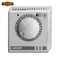 Механічний кімнатний регулятор температури Cewal RQ 30