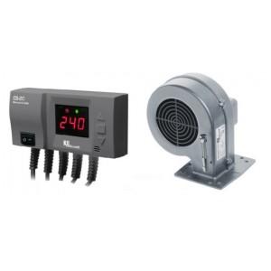 Блок управління з вентилятором KG ELektronik CS-20+DP-02