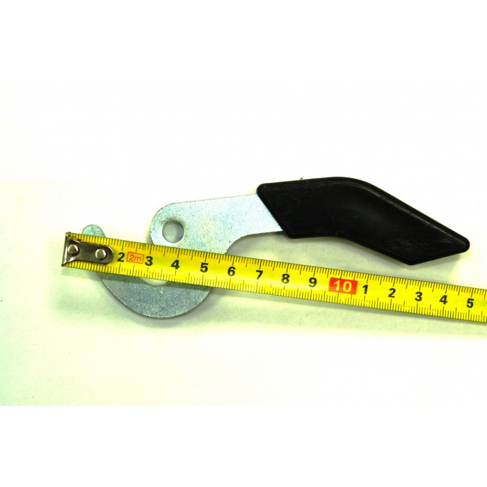 Ручка гачок для твердопаливного котла (коротка)