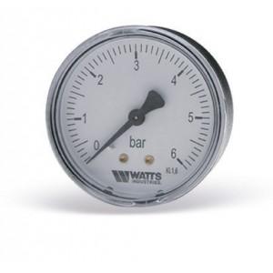 Манометр WATTS F+R100 (63mm, 0-6 бар)