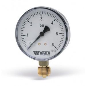 Манометр WATTS F+R200 (63mm, 0-6 бар)