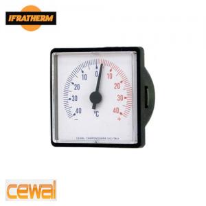 Термометр з виносним датчиком Cewal TQ 52 P (52x52mm, 0/120 ⁰C, L-1500mm)