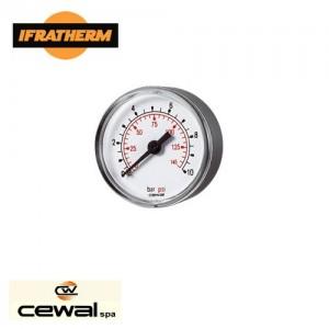 Манометр аксіальний Cewal M 50 PP IR 6 bar (D-53mm 0-6Bar)