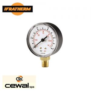 Манометр радіальний Cewal M 50 RP IR 6 bar (D-53mm 0-6Bar)