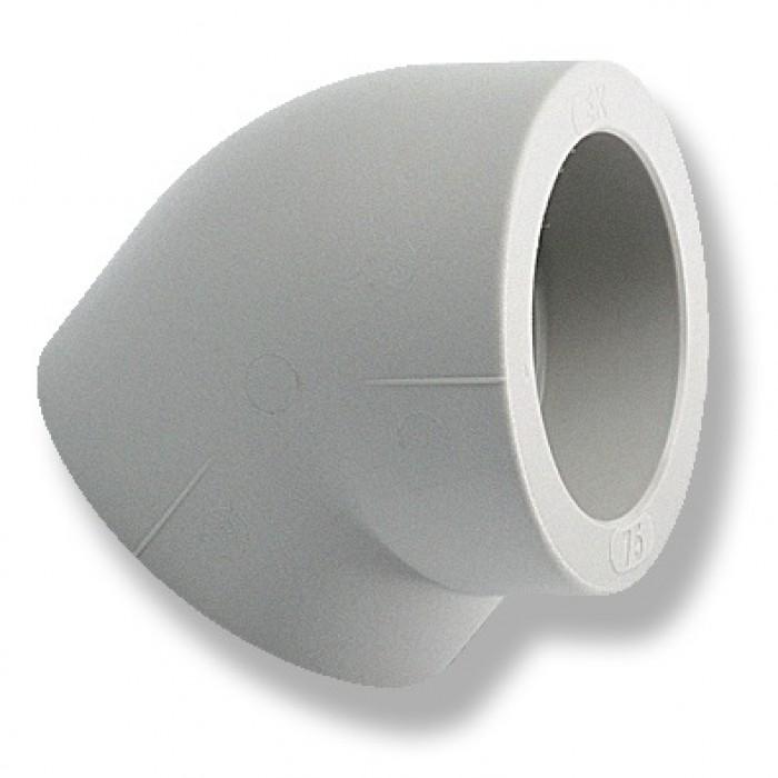 Коліно Ekoplastik 25х45° PN20/20C EK
