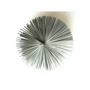 Щітка металева плоска для чистки димоходу LUX Ø125мм