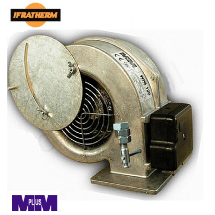 Вентилятор MPLUSM WPA-120 ebm з боковою заслонкою