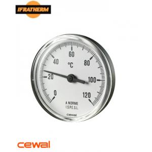 Термометр CEWAL PST 63 P (Ø63mm 0-120°C L-50mm)