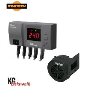 Блок управління з вентилятором KG ELektronik CS-20+DPA-120