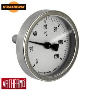 Термометр біметалічний Arthermo AR-T/B 63 (63 мм, 0-120 ⁰C)
