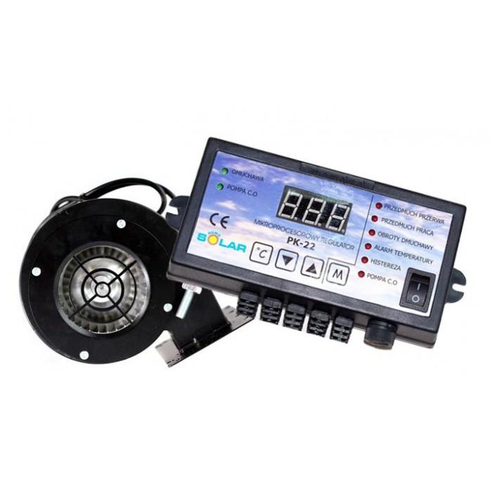 Блок управління з вентилятором NOWOSOLAR PK-22 + NWS-75