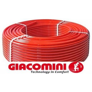 Труба GIACOTHERM, art.R978Y226, 16x2mm, (бухта 240m) зшитий поліетилен (оригінал, Італія)