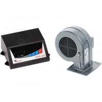 Блок управління з вентилятором KG Elektronik  SP-05LED + DP-02К