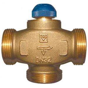 "Триходовий термостатичний клапан HERZ CALIS-TS-RD DN25 1"""