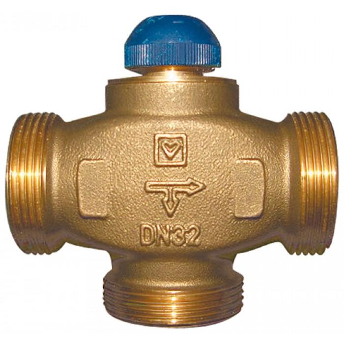 "Триходовий термостатичний клапан HERZ CALIS-TS-RD DN32 1 1/4"""