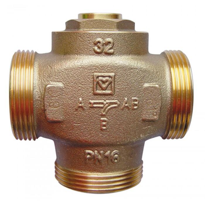 """Триходовий термозмішувальний клапан HERZ TEPLOMIX DN32 1 1/2"""" 55°С"""
