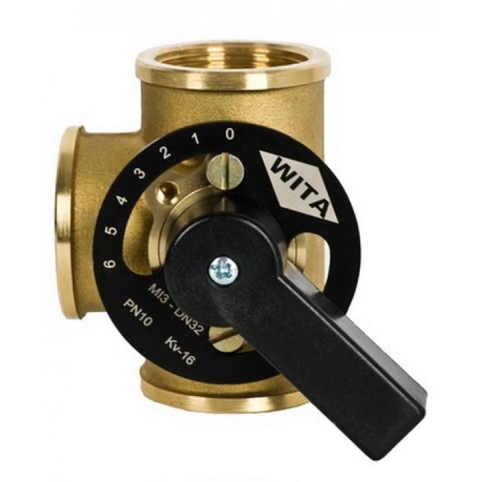 """Триходовий термозмішувальний клапан Hel-Wita Minimix MI 3*1 1/4"""""""