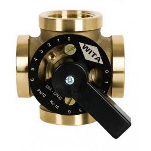 """Чотирьохходовий термозмішувальний клапан Hel-Wita Minimix MI 4*1 1/4"""""""