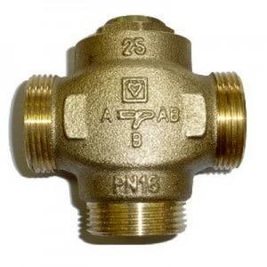"""Триходовий термозмішувальний клапан HERZ TEPLOMIX DN25 1"""" 55°С"""