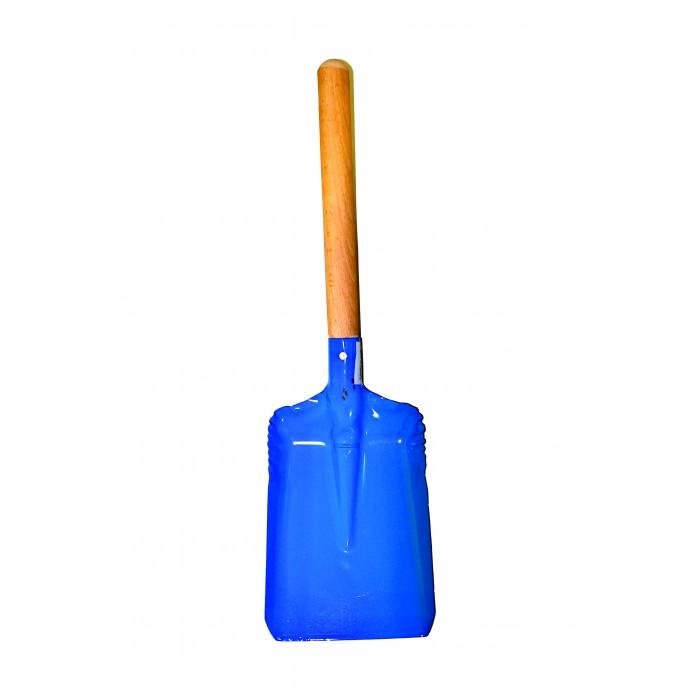 Совкова лопата для вугілля з дерев'яним руків'ям 30 см