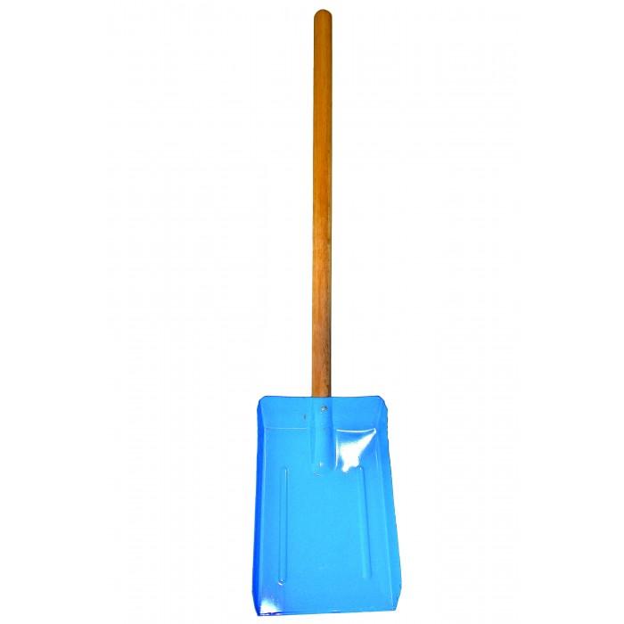 Совкова лопата для вугілля з дерев'яним руків'ям 60см
