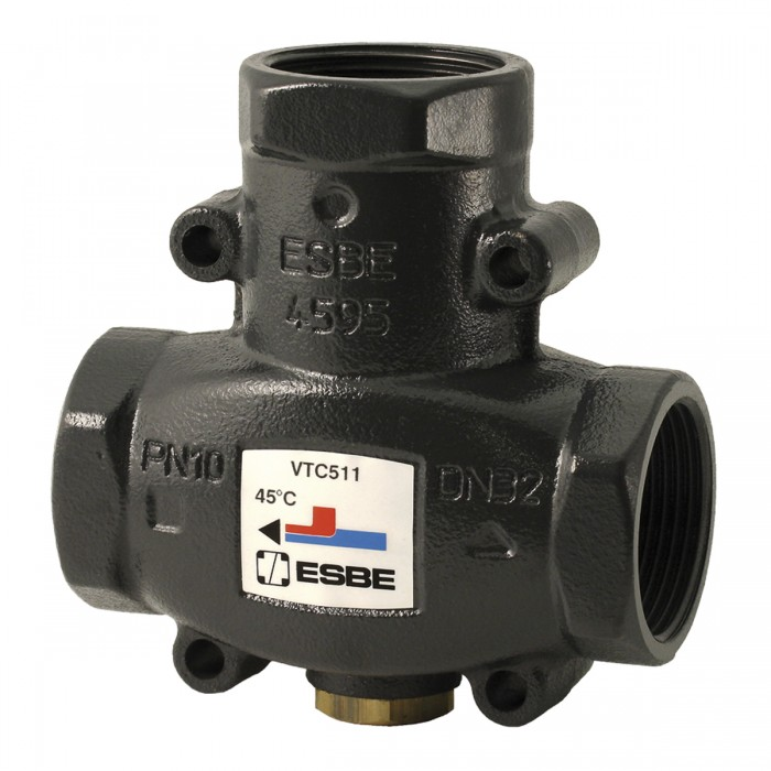 """Навантажувальний клапан ESBE VTC511 (55°С DN32 1 1/4"""")"""