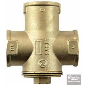 """Триходовий термозмішувальний клапан REGULUS TSV5B DN32 5/4"""" 55°С"""