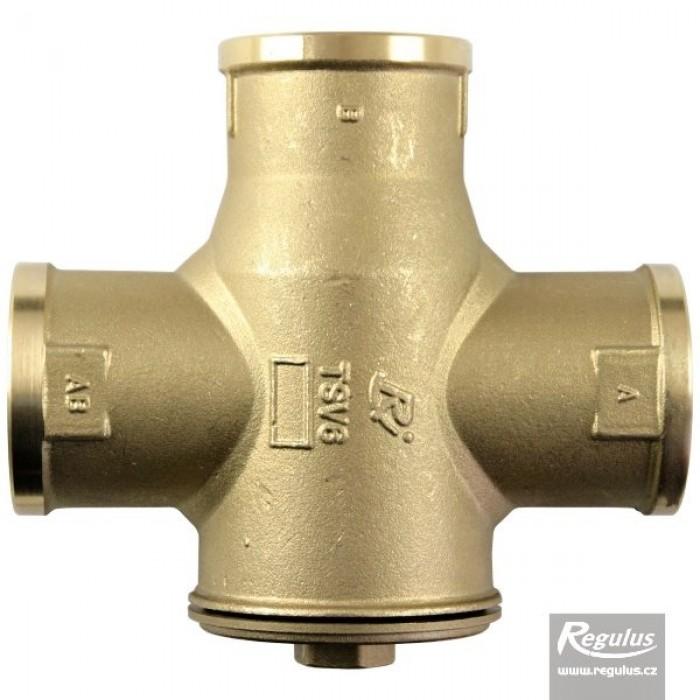 """Триходовий термозмішувальний клапан REGULUS TSV6B DN40 6/4"""" 55°С"""