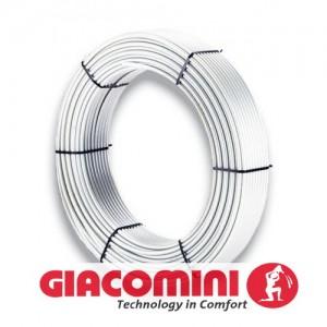Труба металопластикова GIACOMINI 16x2 (200m)