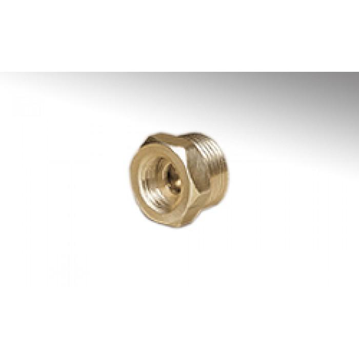 """Запірний клапан для манометра Cewal R1/2""""xG1/4"""""""