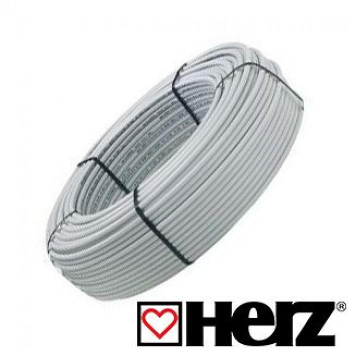 Труба металопластикова HERZ 16*2.0 (бухта 200m), (оригінал, Австрія)