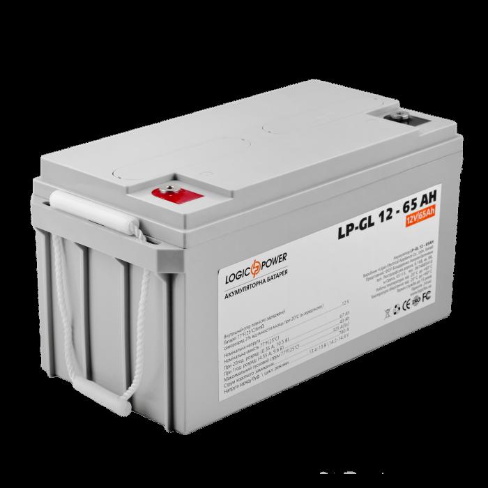 Акумулятор гелевий LP-GL 12 - 65 AH